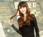 2011春装 新款韩版女装 百搭网纱PU皮拼接打底衫免费加盟一件代发