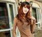 2012春装 韩版新款女装百搭纯色长袖打底衫蕾丝衫 免费加盟