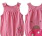(此款售完)外贸童装/玫红点点甲虫造型哈衣(HA1425 1手5件)