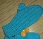 儿童腈纶针织手套